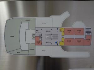 横須賀市立中央斎場2F見取り図